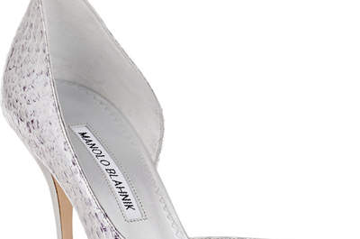 Zapatos de novia Manolo Blahnik 2016: El glamour a tus pies