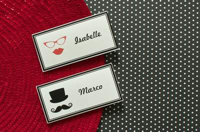 Entdecken Sie 20 kreative Ideen für Tischkarten bei der Hochzeit: Mit Fingerspitzengefühl zur Traumhochzeit!