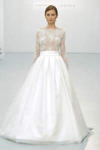 Vestidos de novia corte princesa 2016