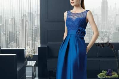Vestidos de invitada con encajes 2015: el glamour más sensual