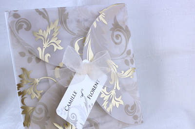 Jacquard and Damask for your wedding tables: Formal, classic and elegant