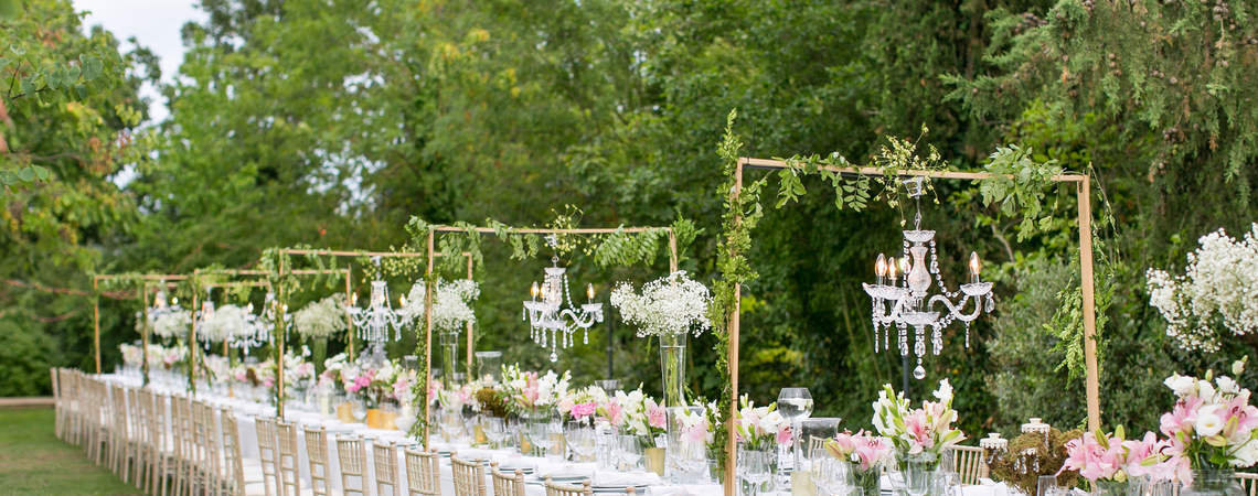 Fabulous Outdoor Wedding Decorations 2017: Get Inspired!