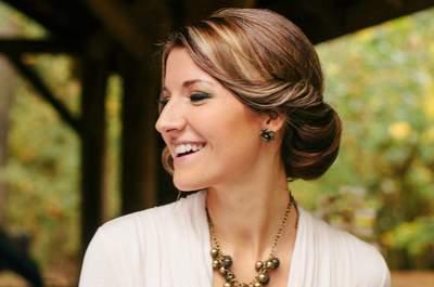 Les chignons, une coiffure de mariée tendance en 2015