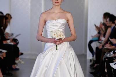 Vestidos de noiva Óscar de la Renta 2017: modelos que vai querer a todo o custo
