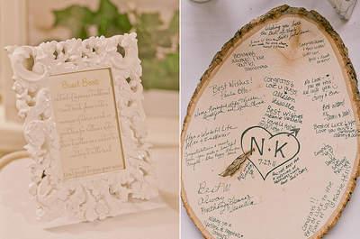 Wedding Decor Highlight: Wood