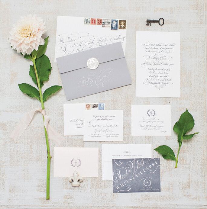 Cómo tener las invitaciones de boda más originales - Foto Patricia Lyons Photography