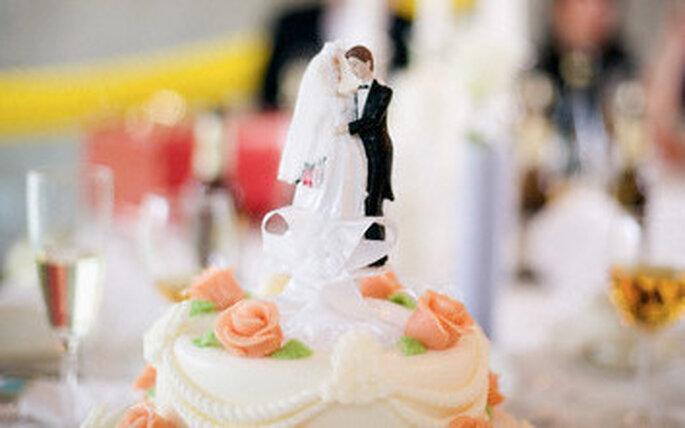 Un buen pastel de bodas es esencial para el banquete