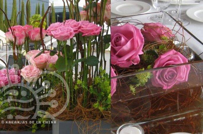 Decoración de las mesas de tu boda - Naranjas de la China