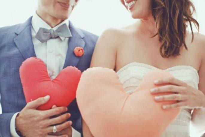 So romantic, un mariage le jour de la Saint Valentin... - Source : mariages.net