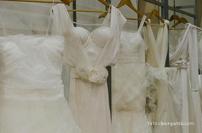 Choisir sa robe de mariée, une opération délicate... - Photo : CasaModa Noivas 2013 / Crédits : fabioborgatto.com