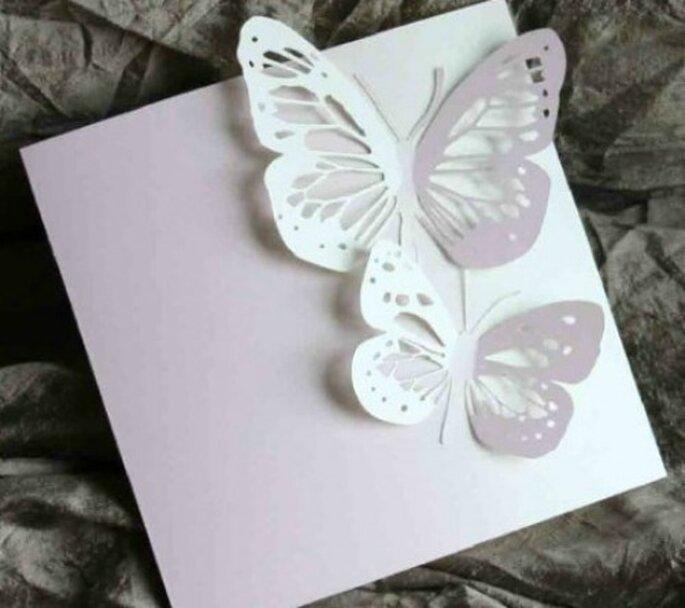 Invitaciones de boda en 2D, Foto: Graine Création