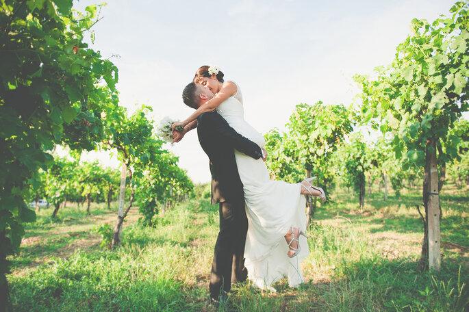 Foto via The Wedding Tale