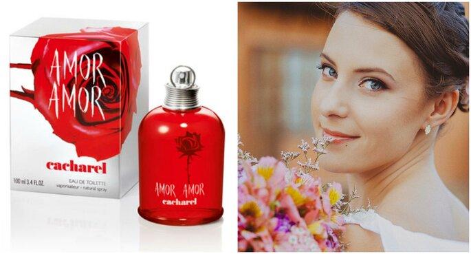 Créditos: Bridal Bouquet | Fragancia: Amor Amor de Cacharel