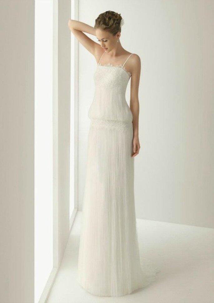 Robe de mariée vintage Rosa Clará 2013