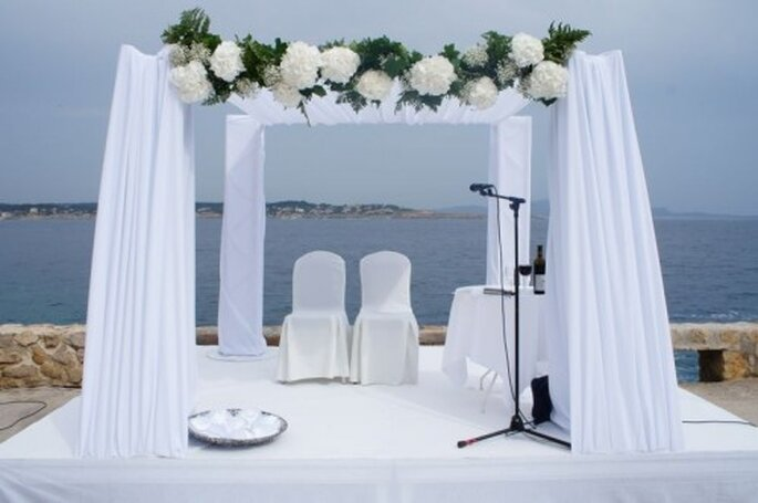 Magie et féerie du mariage en bord de mer - Photo : One Day Event