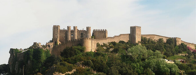 Castelo de Óbidos. Foto: Alvesgaspar / Wikipedia