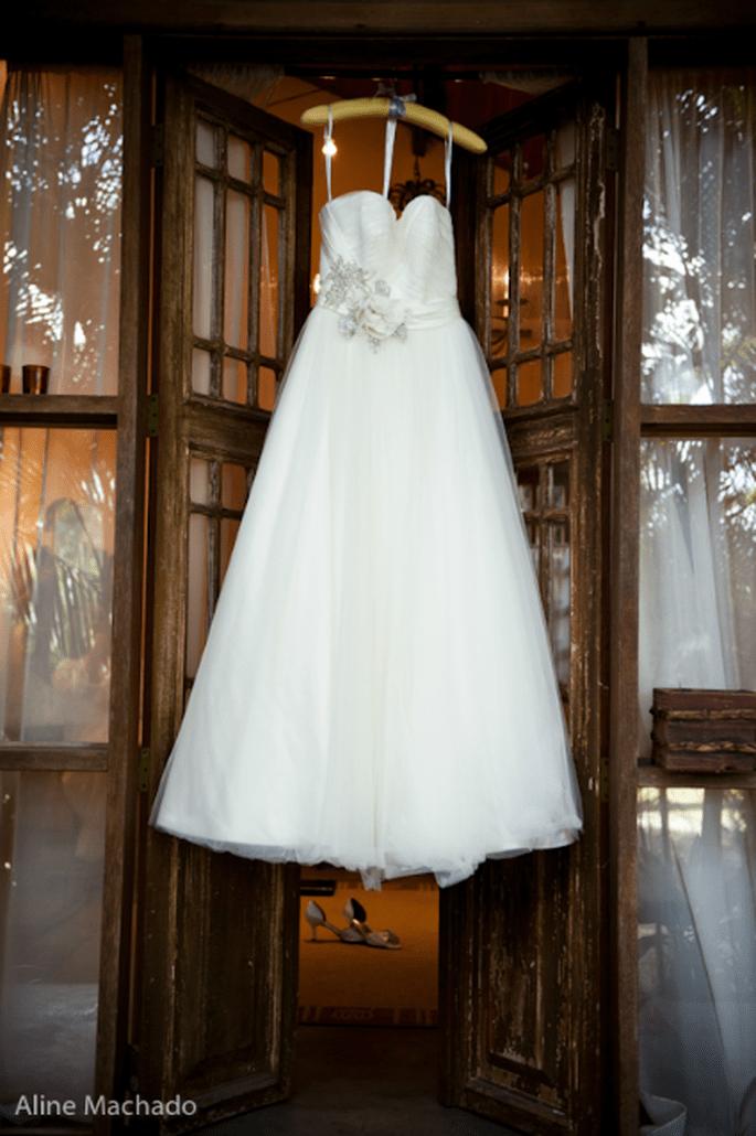 Robe de mariée sur mesure : on a toutes les raisons d'en vouloir une ! - Photo : Aline Machado