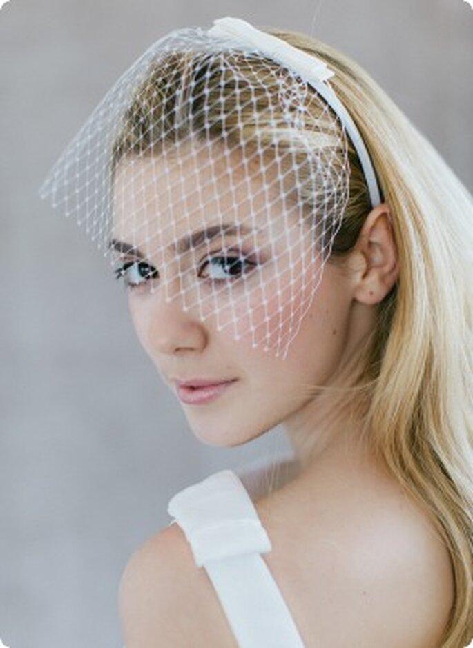 Einzigartige Haar-Accessoires für die Braut – Foto: BelleJulie