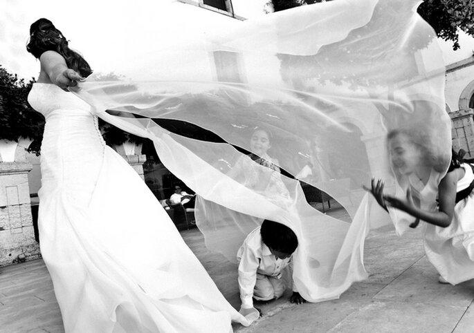 Los niños son el toque más tierno de una boda. Foto: Nuno Palha