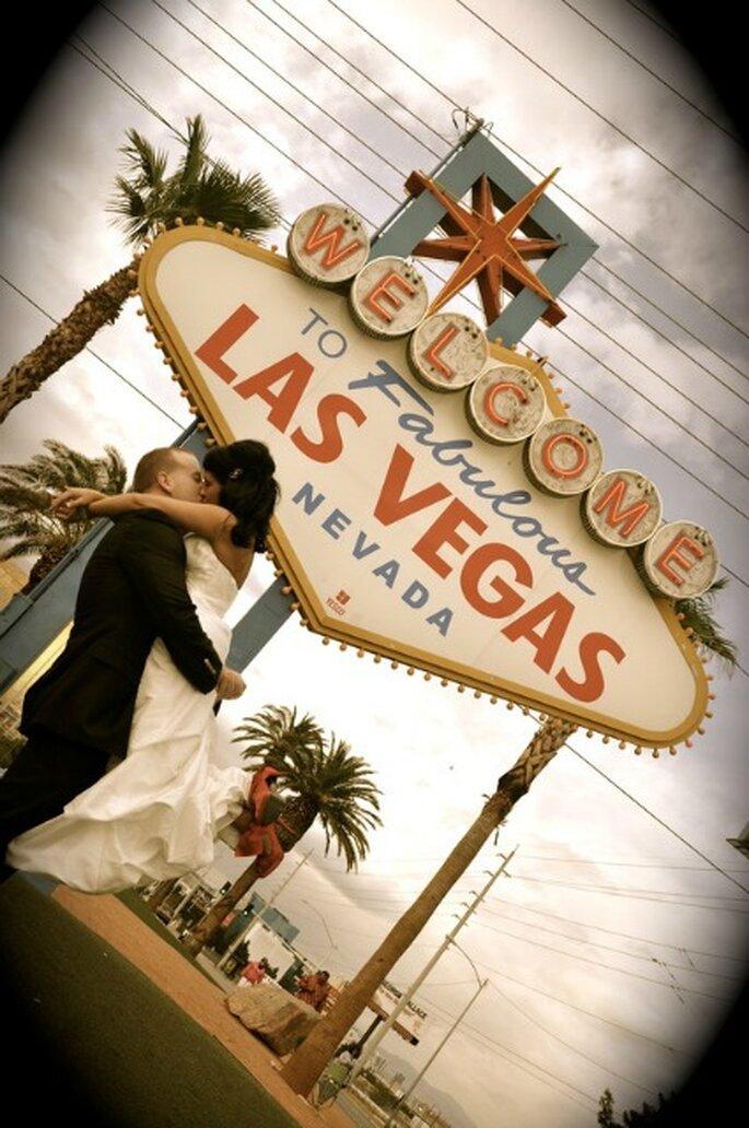Las Vegas : destination pour un mariage original - Photo : Maria Kirkland
