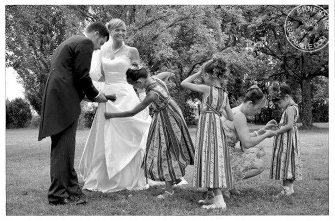 Reportage de mariage : une pure merveille - Crédit : Ernestine et sa famille