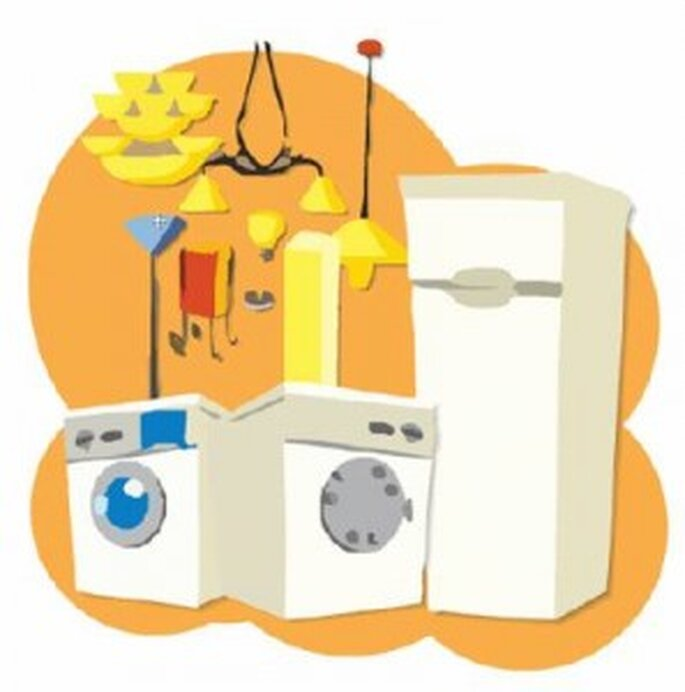 Puedes poner en tu mesa de regalos todos los utensilios de cocina, por ejemplo