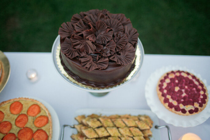 Pastel de chocolate - Troy Grover Photographers