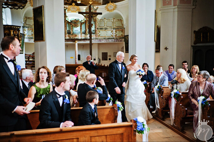 Emotionale Momente in der Klosterkirche St. Andreas - Foto: Martina Rinke.