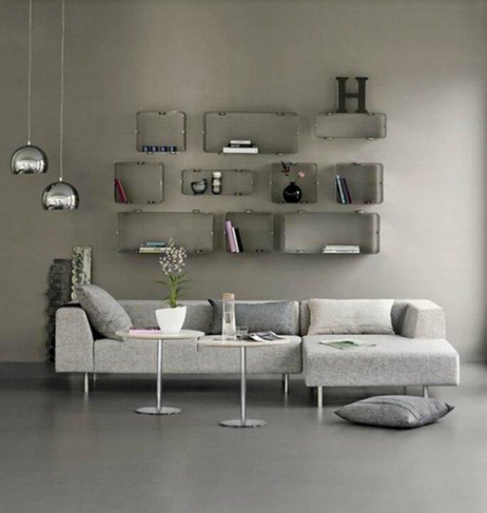 Proposta per il soggiorno. Foto: www.nordicliving.it