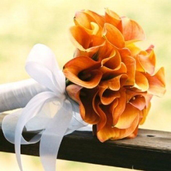 Bouquet di calle colorate