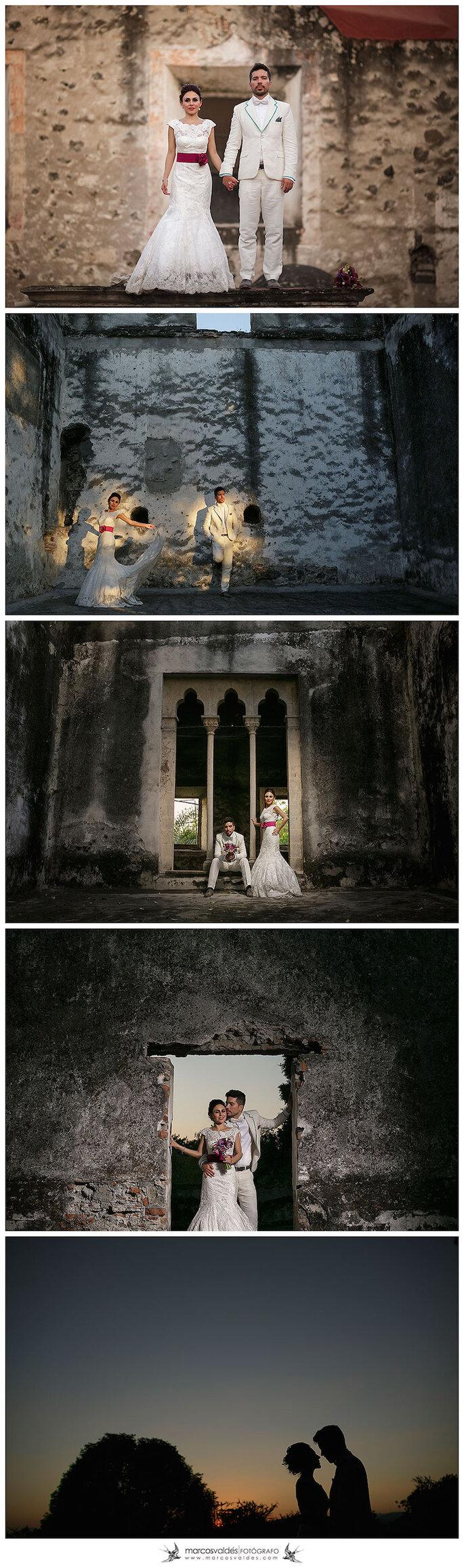 Real Wedding: Boda de María y Pablo en Hacienda Chiconcuac, Morelos - Marcos Valdés