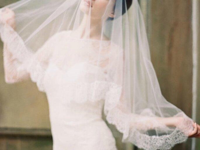 Las novias veladas jamás habían sido tan bellas - Foto Enchanted Atelier