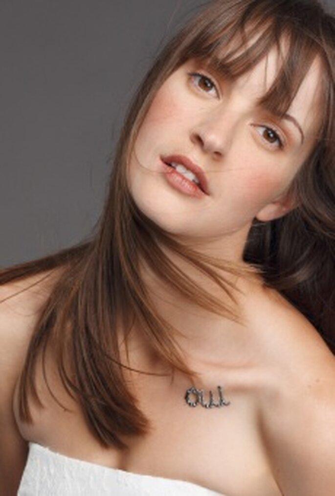 "Cymbeline - tatuagem ""Oui"""