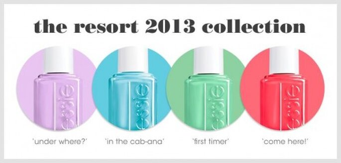 Colores de pintura de uñas de moda en verano 2013 - Foto Essie