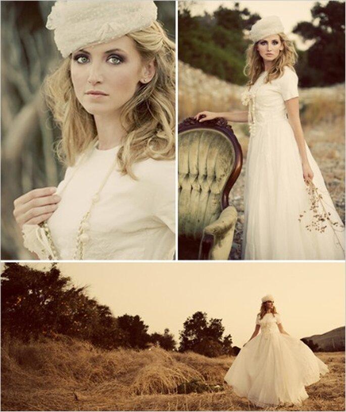 Vestido de novia adecuado para una boda en el campo
