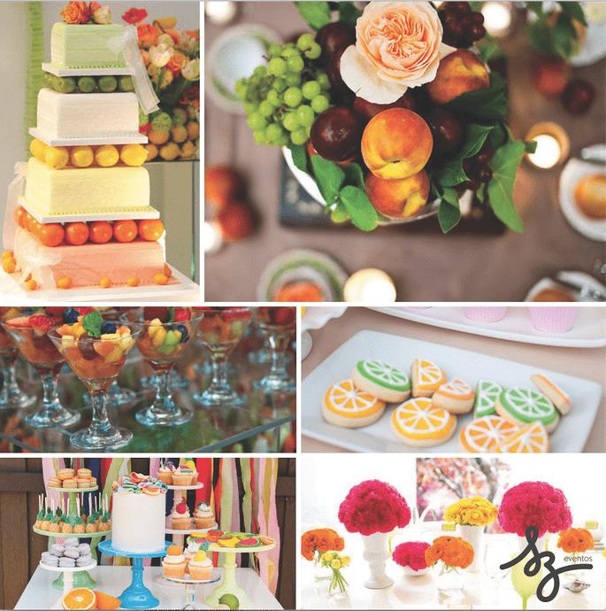 La tendencia tutti frutti para bodas 2016