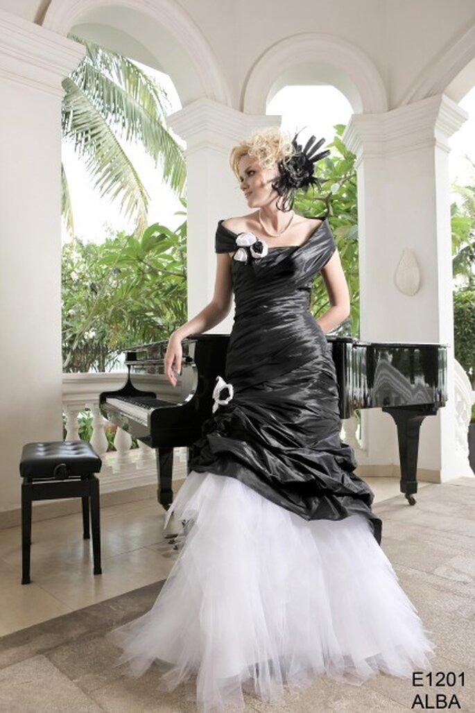 Robe de mariée E1201 ALBA collection 2012 - Emy Lee