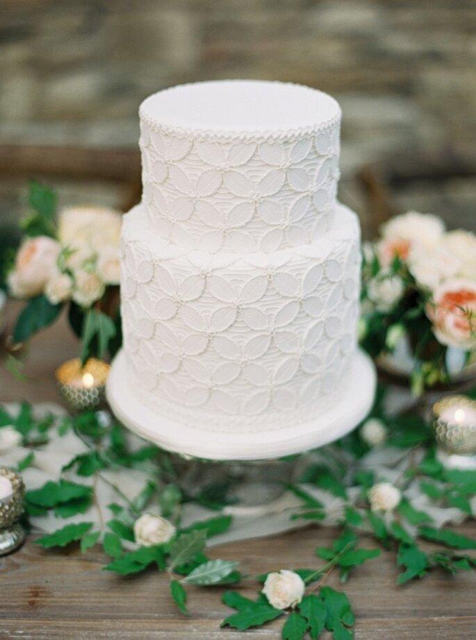 pastel con flores -Blaine Siesser