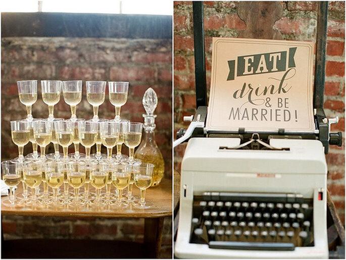 Droit de bouchon, nombre d'invités... : tout est à valider avec votre traiteur de mariage - Photo : Alea Lovely