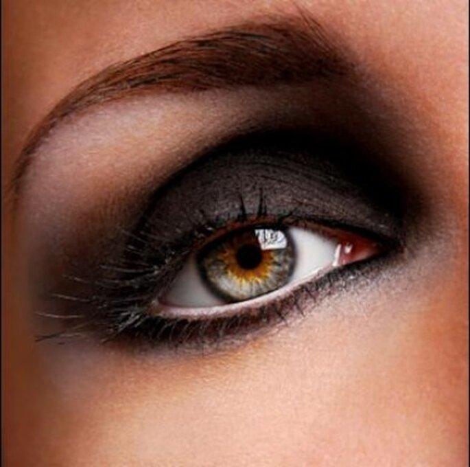 Maquillaje de ojos de larga duración