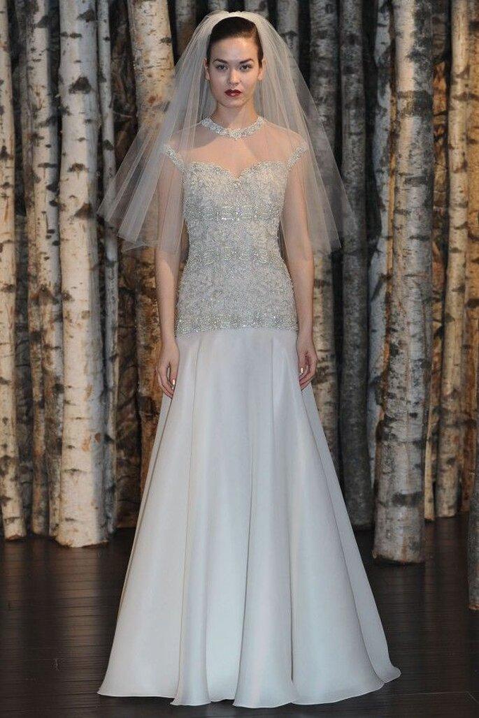Robe de mariée 2015 avec coupes taille basse - Naeem Khan