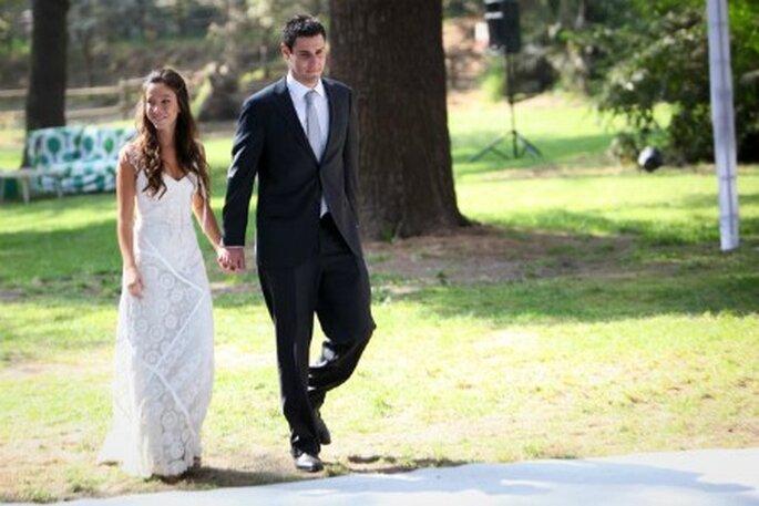 El novio también debe verse estupendo el día de la boda. Foto: Maria Luisa Vega