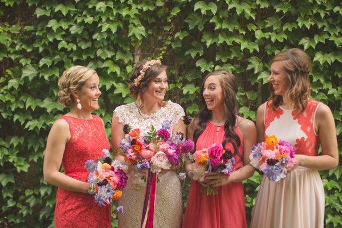 10 ideas geniales para que tu boda sea la más colorida - NBarrett Photography