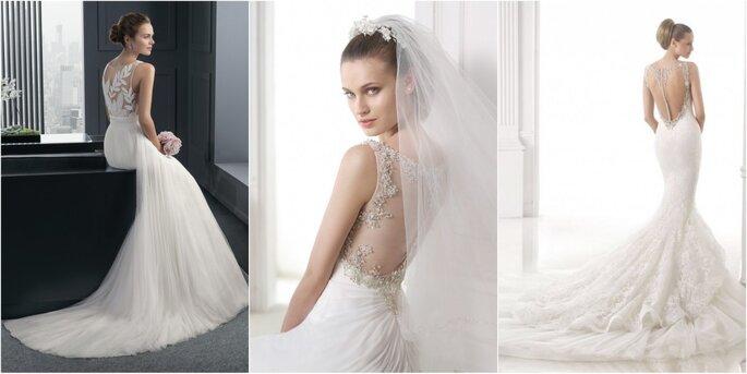 Необычные свадебные платья 2015