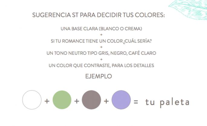 Cómo crear la paleta de colores perfecta para tus invitaciones - Foto Señorita Tinta