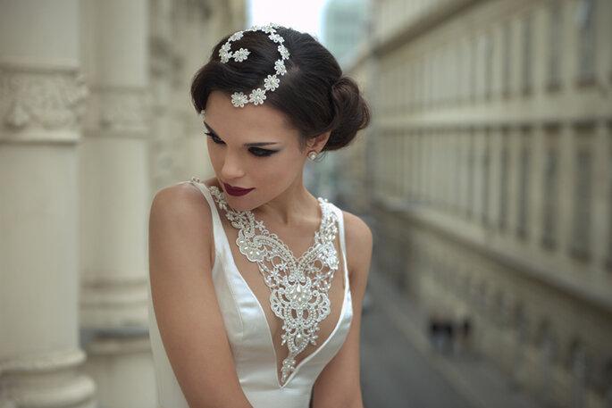 Vestido: Solaine Piccoli. Foto: Everton Rosa.