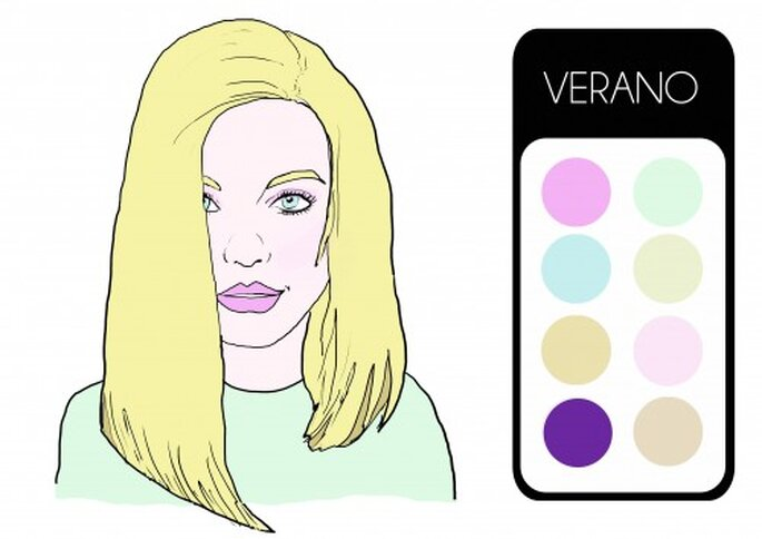 Tipología Verano. Ilustración: Ana Jiménez.