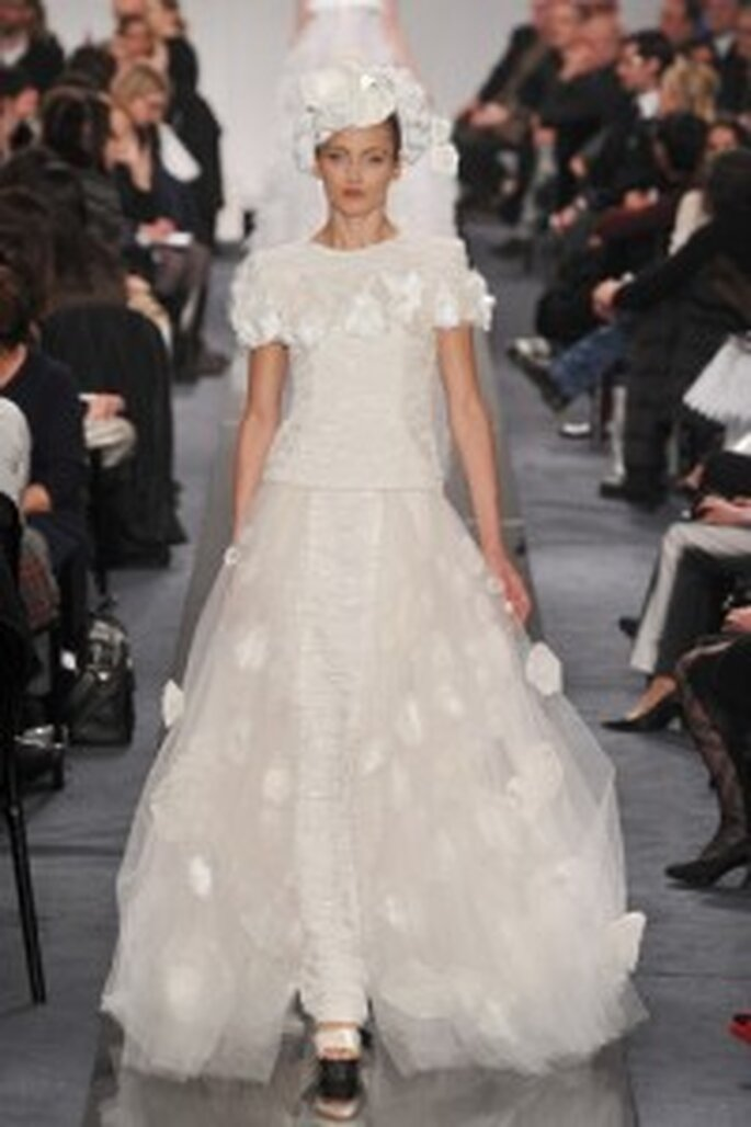Vestido de novia Chanel 2009