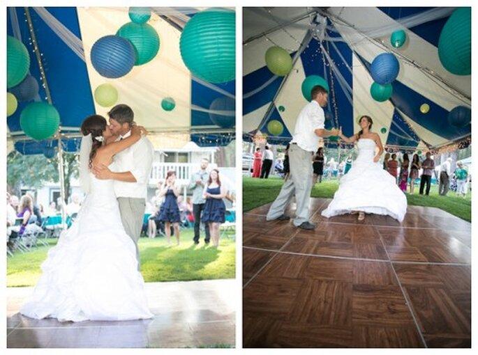 Harmonie et convivialité grâce au thème de mariage - Photo : Zach Mathers Photography