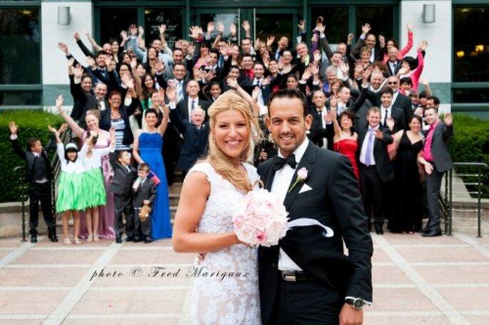 Mariage de Nathalie & Rudy à Paris - Photo : Fred Marigaux